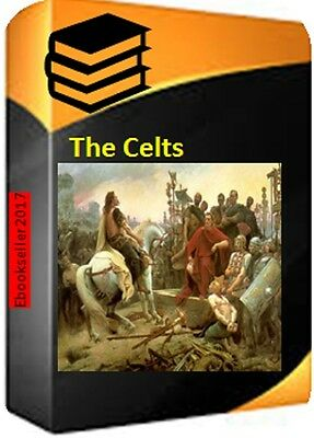 The Celts History, Celtic genealogy ebooks in kindle epub & pdf on disc for PC +
