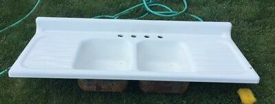 Never Used Antique Porcelain Sink