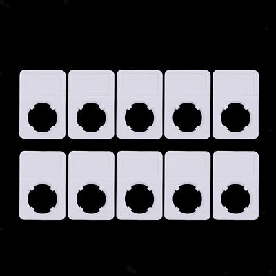 10pcs/set Coin Display Slab Coin Storage Box Holder for Collector Gift 30mm