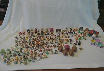 Lot Of 200 Hallmark Merry Miniatures Figurines All Seasons 70S-90S Rares!!!