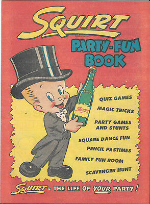 1953 Squirt Party-Book & 1947 You Asked For It Folder
