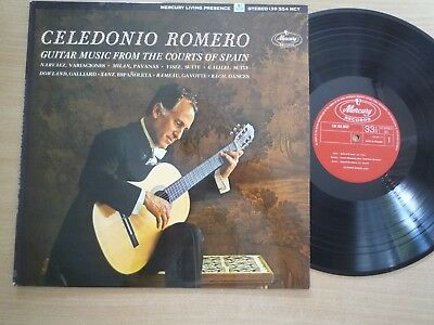 Celedonio Romero, LP, Guitar Music From The Courts Of Spain, Mercury 130554 MGY