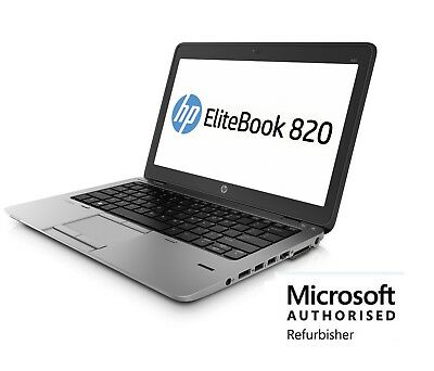 HP EliteBook 820 G1 i5-4300U 1.9GHz 8GB 120GB SSD Windows 10 Pro
