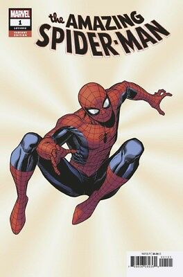 Amazing Spider-Man #1 (2018)  - Jim Cheung variant cover  - Bagged & Boarded