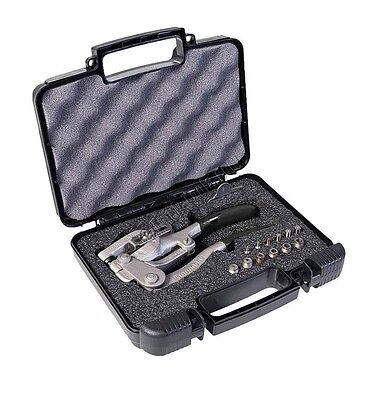 Roper Whitney # 5 Jr Hand Punch Kit | Includes case with 7 punch & die sets