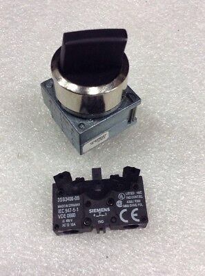Siemens 3SB3602-2PA11 Selector Switch NEW!!!