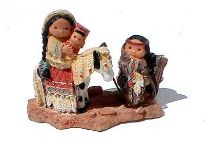 Marked ©1997 Enesco, Karen Hahn Holy Family Figurine