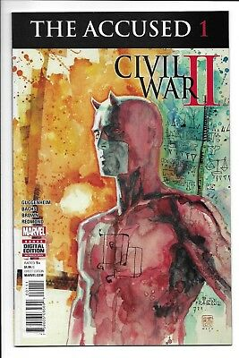 Marvel Comics, Civil War 2, The Accused, Issue 1, Direct Sales, 2017, 9.6,