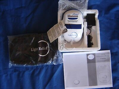 New Light Relief LR150 Infrared Pain Therapy Device w storage pouch