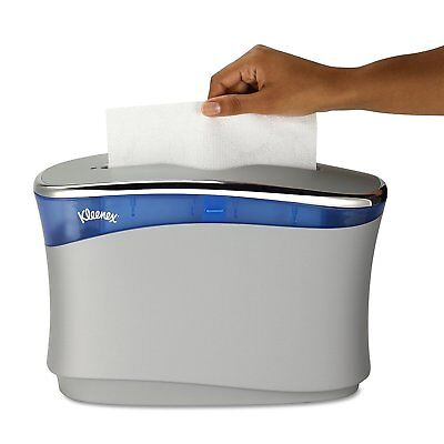 Kleenex Reveal Countertop System Dispenser for Folded Paper Hand Towels - Gray