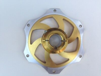 Gold Anodised 25mm Go Kart Disc Carrier-Twin Bolt Fixing-BEST PRICE on EBAY
