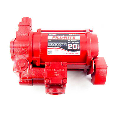 Fill-Rite FR303V 1/2 HP Cast Iron Rotary Vane Fuel Transfer Pump | 20 GPM