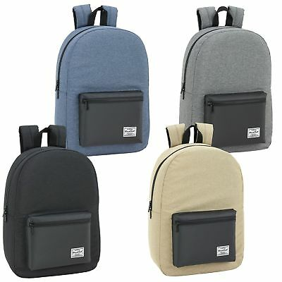 858fe3646a51b8 PREMIUM Laptop Backpack Girls Boys Rucksack Trendy Travel Work School Bag  15.6''