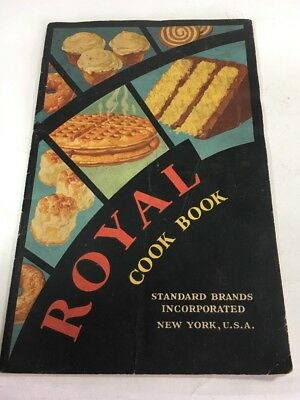Royal Cookbook, Standard Brands [Booklet 1930] Royal Baking Powder ADVERTISING