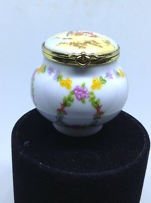 Brand-New Beautiful Little Trinket Pot Wonderful Shape By Del Prado