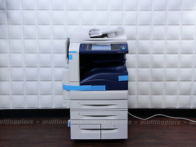 NEW XEROX WORKCENTRE 7556 Color MFP Copier Printer Email Scan iFax ~ 7535  7545