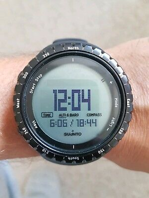 Suunto core all black, Outdooruhr