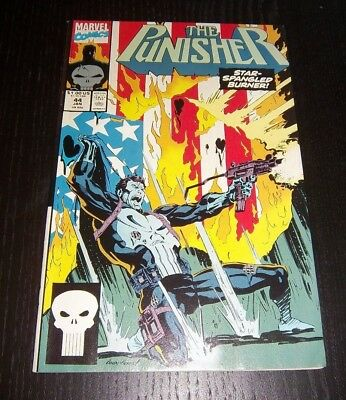 The Punisher Vol 2 #44 Flag Burner! - Great Condition 1991
