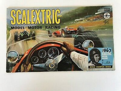 Scalextric Catalogue 7th Edition 1967. Used Good Condition