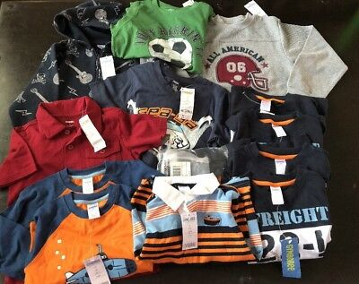 NWT Gymboree Boys Wholesale Lot 2T 3 4 5 6 Months $220+ 13 Pc