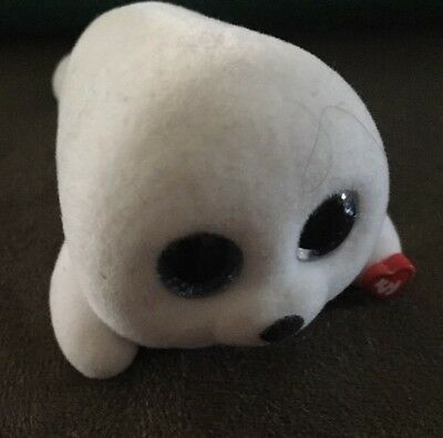 """e2bacdad23d TY Beanie Boos Mini Boo Collectible Figures ICY the White Seal 2"""" Sealed New"""