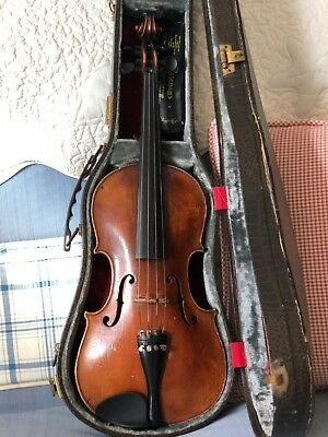 German Violin, Amati, 4/4, circa 1920, needs restoration