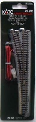 """Kato 20-202 #6 Left Turnout 718mm (28 1/4"""") EP718-15L (N scale)"""