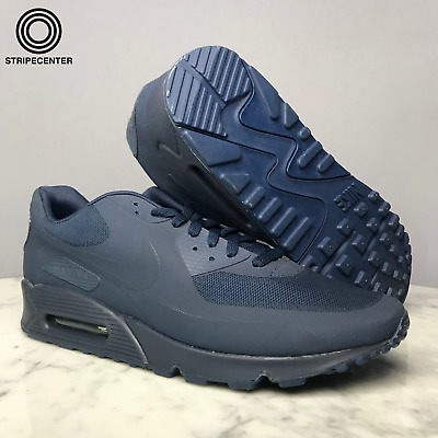 Details about Nike Air Max 90 Hyperfuse QS Midnight Navy Blue Independence Day USA Kanye West