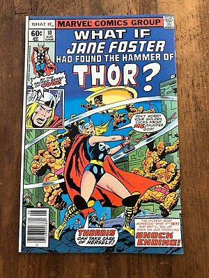 What If #10 What If Jane Foster Had Found The Hammer of Thor? (1978, Marvel) A