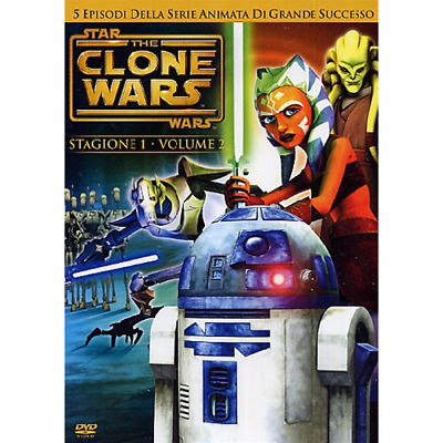 Star Wars - The Clone Wars - Stagione 01 #02  [Dvd Nuovo]