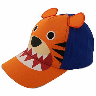 ABG Accessories Toddler Boys Baseball Cap - Assorted Critter Designs, Age 2-4