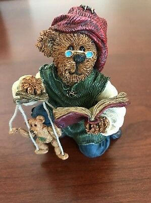 Boyds Bears, Isaac Chisely & Woody... Makin' Friends, NIB