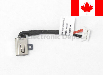New Dell P57G 11-3148 13-7347 7352 7353 7359 15-7558 DC Jack Cable 0JDX1R
