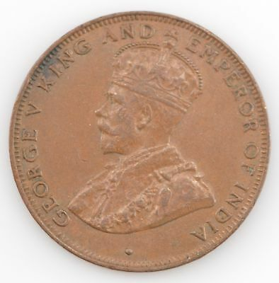 1931 Hong Kong One Cent King George V *263