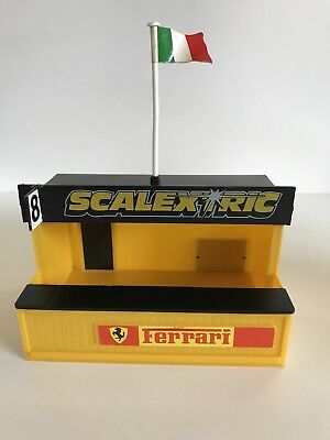 Scalextric C701 Pit Stop Building. Used No Box.