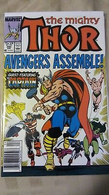 The Mighty Thor #390 1st time Steve Rogers lifts Thor's hammer