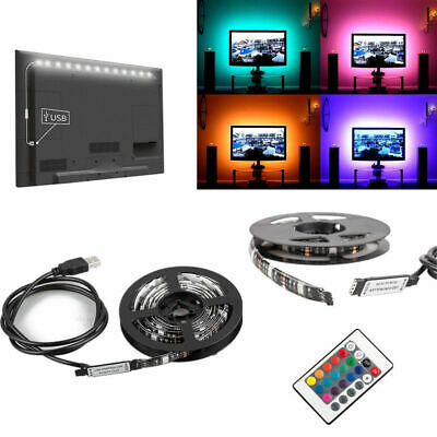 LED Strip Light Backlight for LCD TV PC Computer Case Monitor USB Powered 5v RGB