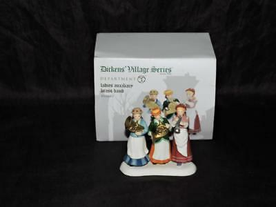 Dept Department 56 Dickens Village Ladies Auxiliary Brass Band Porcelain 4056643