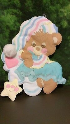 Teddy Beddy Bear and Friends- Dolly- Soft Wall Hanging- Child Kid Room Decor