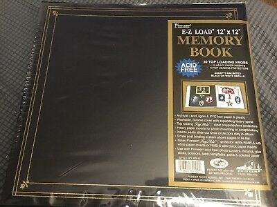 Pioneer E Z Load Memory Book Photo Scrapbook Album 12x12 20 Pages