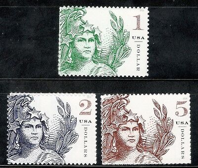 5295-5296-5297 Statue Of Freedom Complete Set Mint/nh FREE SHIPPING