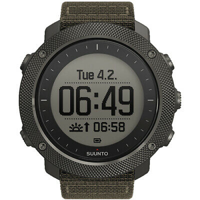 Suunto Traverse Alpha Foliage GPS Watch with GEN SUUNTO WARR