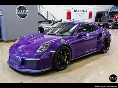 911 GT3 RS 2016 Porsche 911 GT3 RS PDK 2-Door Coupe, PCCB, GMG, Warranty