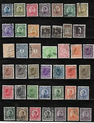 1920 Onwards Selection Of Used Yugoslavia Stamps - Overprints / Surcharges