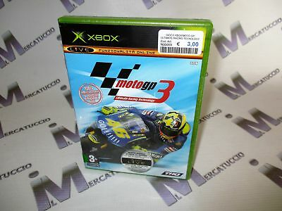 Gioco Xbox, Moto Gp Ultimate Racing Tecnology 3, Nuovo