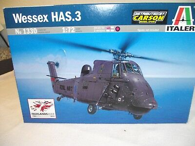 ITALERI Wessex HAS:3 Helicopters 1:72