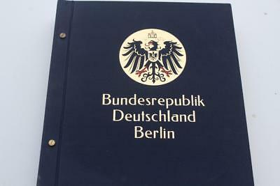 Stamp Album Davo German 1945-1982  1,623 Stamps Included Rare Collection