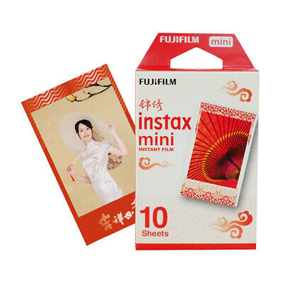 New Year Fujifilm Instax Mini Instant Film 10 Sheets f Mini 9 8 7s 70 90 25 SP-2