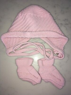 PAZ Rodriguez Girls Baby Bonnet And Boots