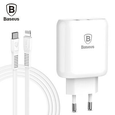 Baseus Bojure Series Charging Set 32W Type-C PD3.0 and USB Quick Charger + Cable